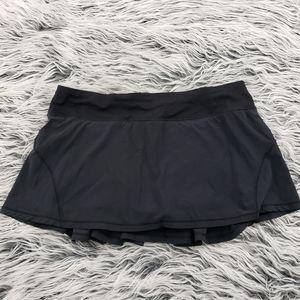 Lululemon Black Circuit Breaker Skirt
